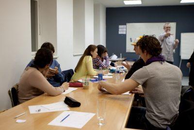 Cours collectif d'allemand à la maison des langues à bayonne